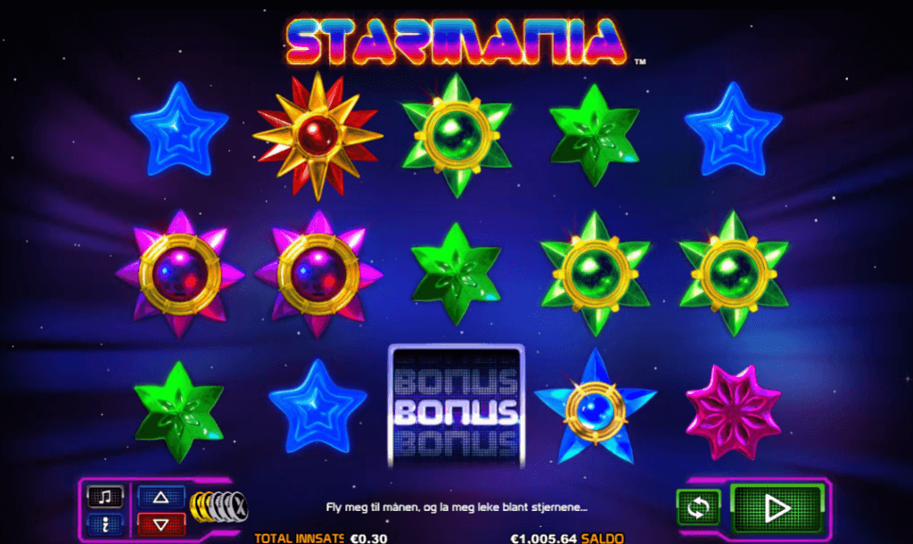 Starmania spilleautomat anmeldelse