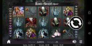 Blood Suckers spilleautomat på mobil