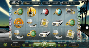 mega fortune spilleautomat med progressive jackpot