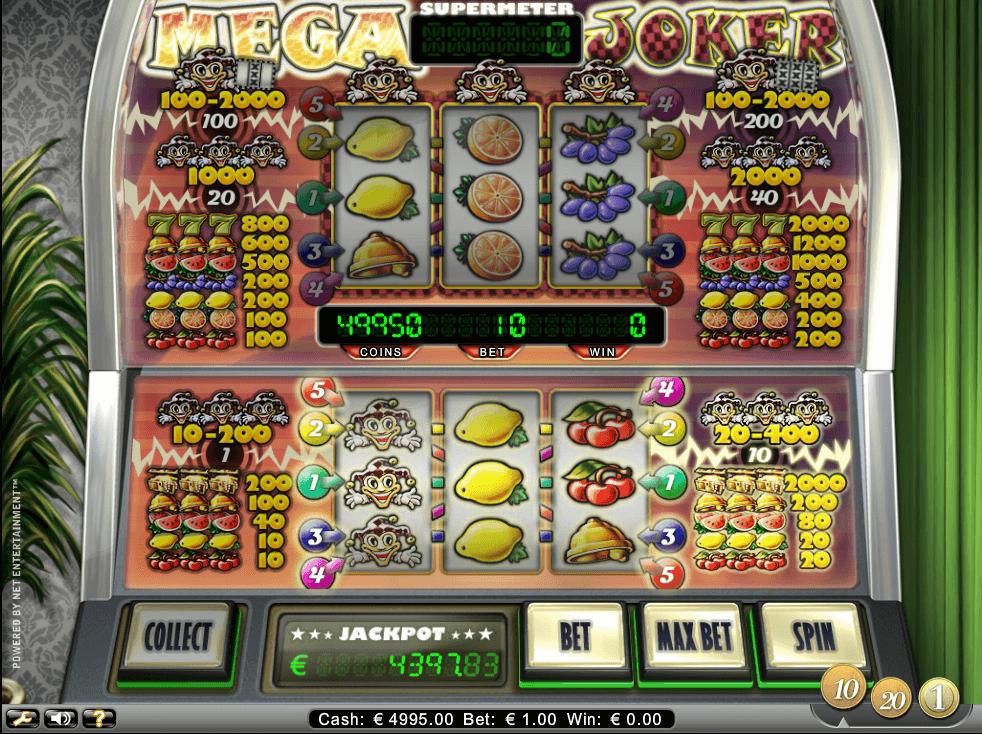 Mega Joker spilleautomat anmeldelse