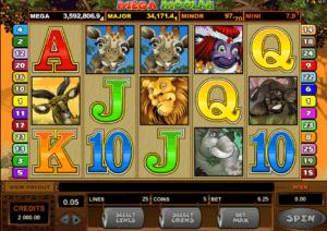 mega moolah spilleautomater online