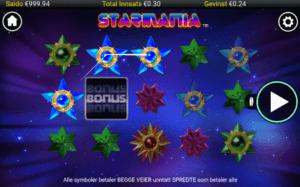 Starmania spilleautomat på mobil
