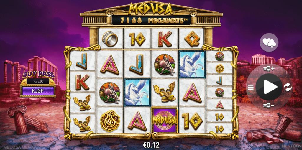 Medusa Megaways spilleautomat anmeldelse