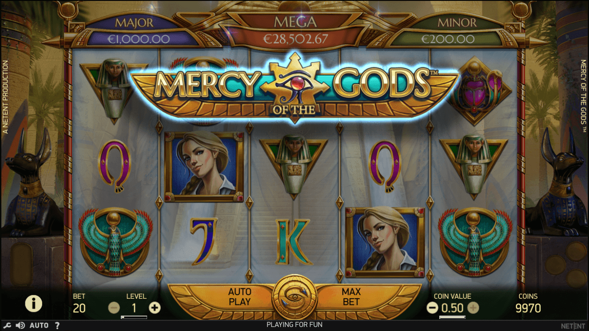 Mercy of the Gods spilleautomat