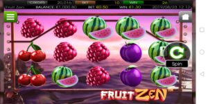Fruit Zen spilleautomat på mobil