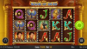 Book of Dead spilleautomat på mobil