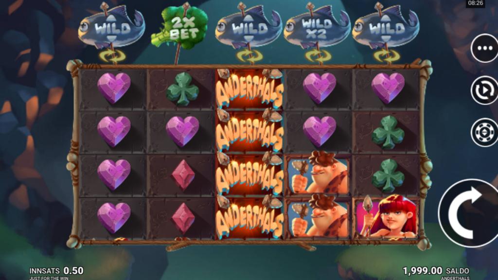 Anderthals spilleautomat på nett gratis