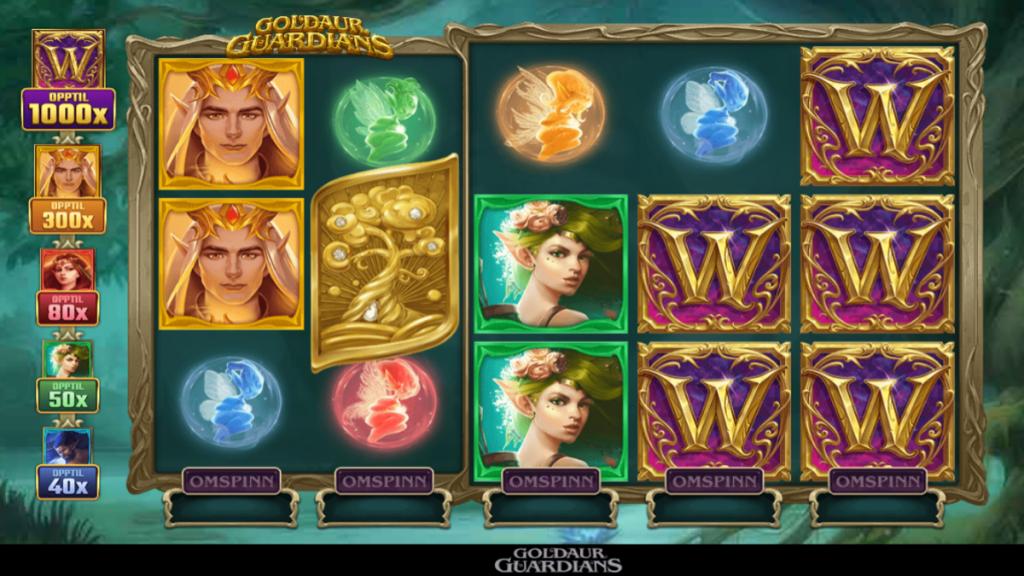 Goldaur Guardians spilleautomat ny