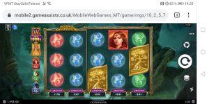 Goldaur Guardians spilleautomat på mobil